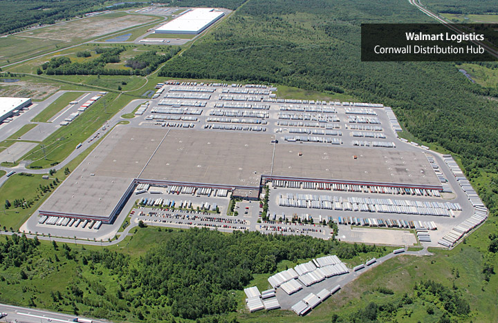 Walmart Logistics Cornwall Distribution Hub