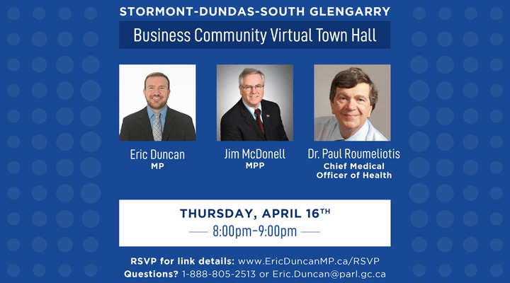 Business Community Virtual Town Hall
