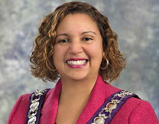 Mayor Bernadette Clement