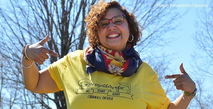 Together We Stand Apart - Mayor Bernadette Clement