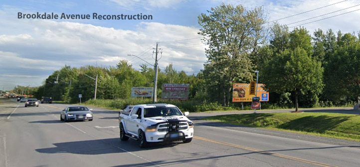 Brookdale Avenue Reconstruction