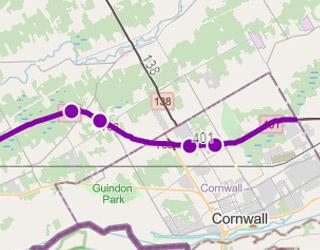 Highway 401 Improvements- Cornwall