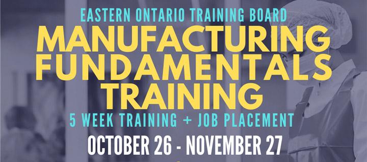 EOTB Manufacturing Training