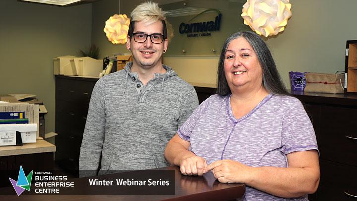 Cornwall Business Enterprise Centre - Winter Webinars