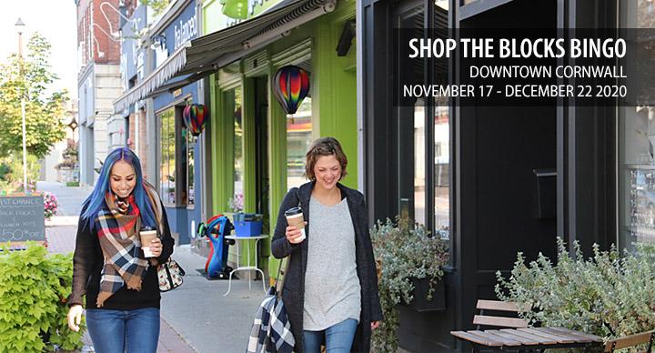 Shop the Blocks Bingo 2020