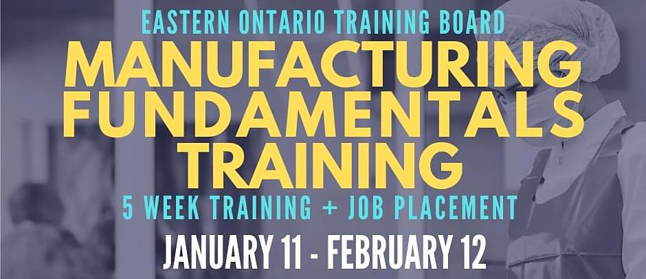 EOTB Manufacturing Fundamentals Training