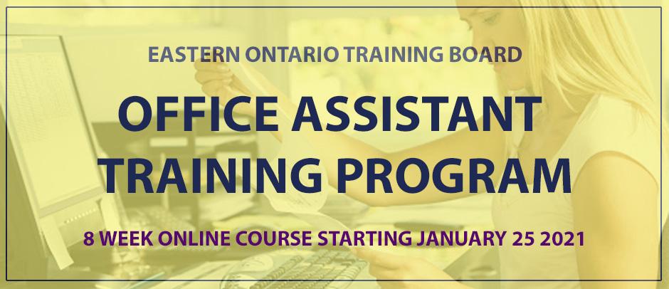 EOTB - Office Assistant Training Program