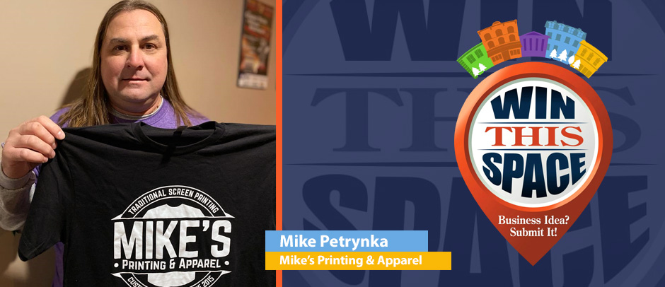Mike's Printing & Apparel Win this Space