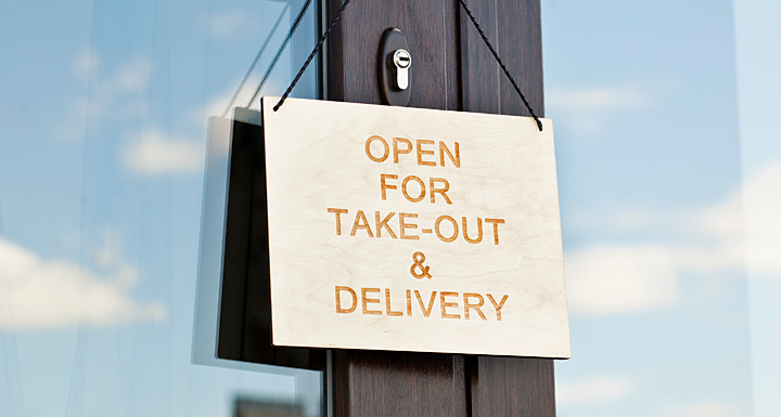 Take Out and Delivery