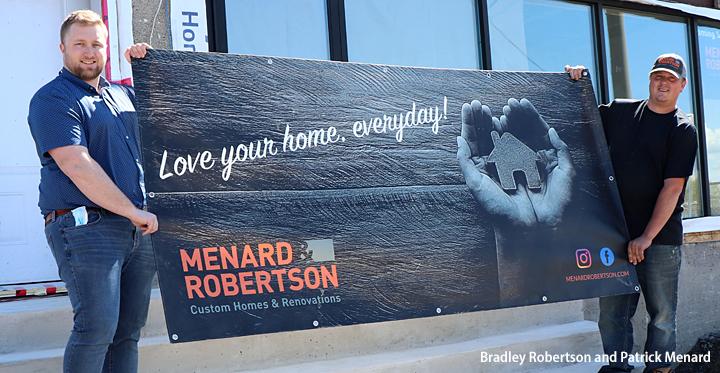 Menard Roberston Menard & Robertson Custom Homes and Renovations