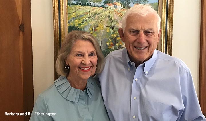 Barbara and Bill Etherington