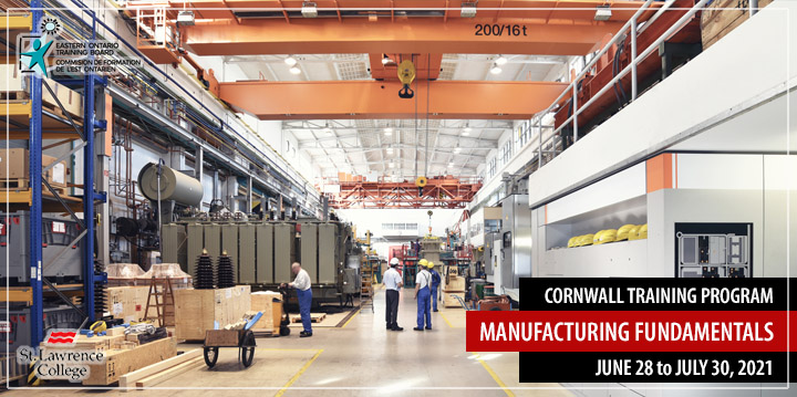 Cornwall Training Program - Manufacturing Fundamentals