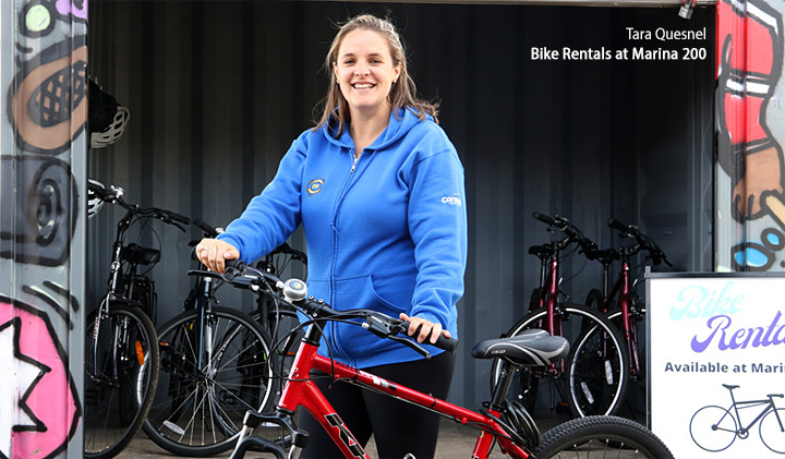 Bike Rentals Cornwall Marina 200