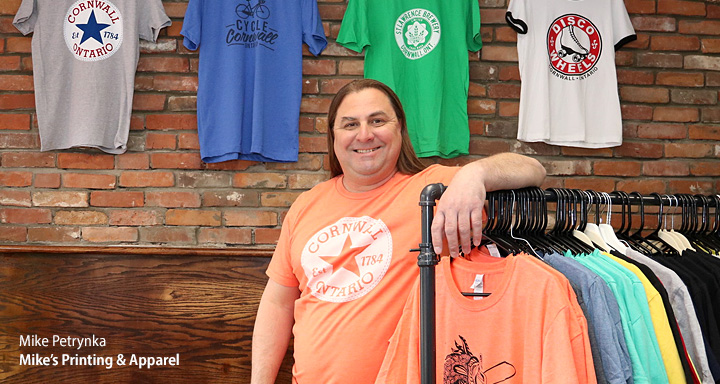 Mike's Printing & Apparel - Cornwall Ontario