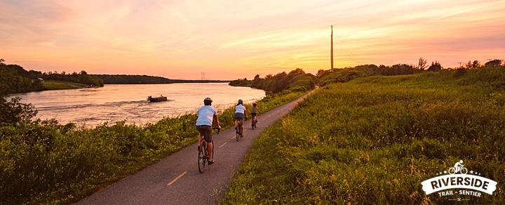 Riverside Trail - Waterfront Trail - Cornwall