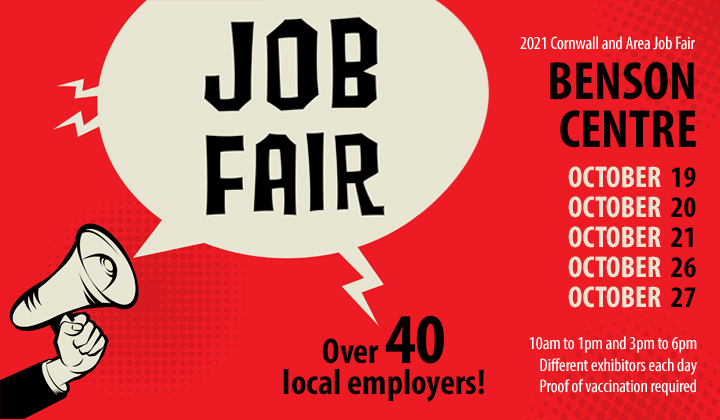 Cornwall and Area Job Fair 2021